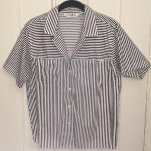 Vintage Striped Button Down